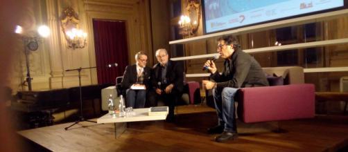 Sandro Veronesi intervista Salman Rushdie ai Circolo dei Lettori di Torino