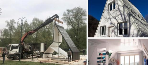 Casa care se construiește în 6 ore și costă circa 30.000 de euro