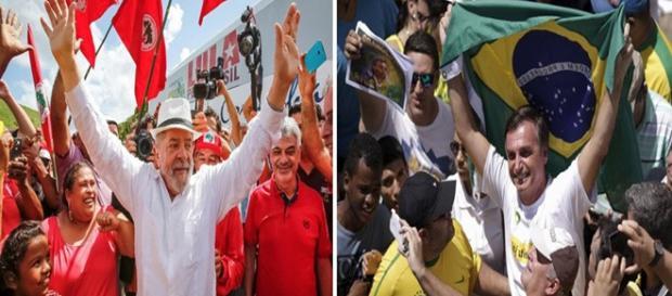 Eleições: Lula lidera pesquisa, com Bolsonaro em segundo