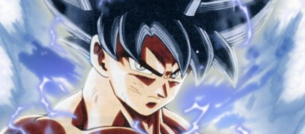 Goku in his maximum power the selfish doctrine