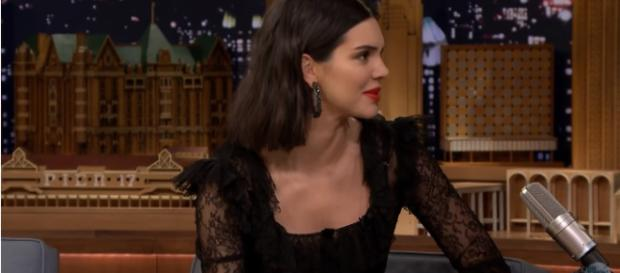 Kendall Jenner: Controversy that haunts Kendall in 2017. Image credit:The Tonight Show Starring Jimmy Fallon/YouTube screenshot