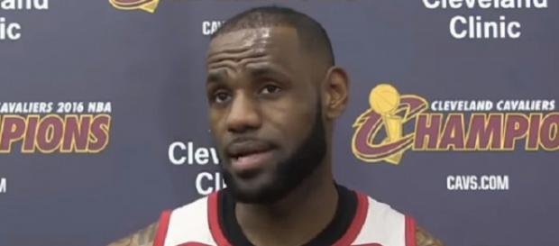 LeBron James has led the Cavaliers to a 7-1 record without Rose. - [Image Credit: NBALife/YouTube]