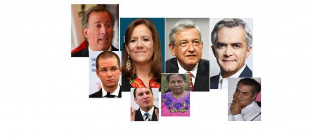 Los aspirantes son estos y más ¿Hacia dónde llevará a nuestro país esta nueva lotería política?