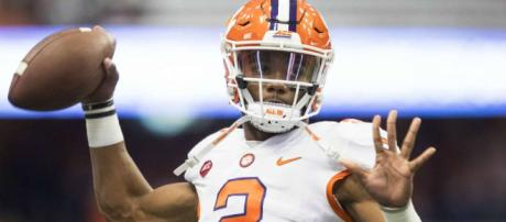 Kelly Bryant and the Clemson Tigers are No. 1. [Image via Sporting News/YouTube]