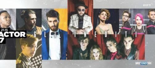 23.11.2017 X Factor 2017 - Inediti
