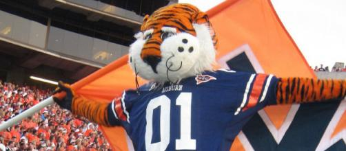 Auburn has defeated two number one-ranked teams in three weeks. [Image via Wikimedia Commons - Auburn Alumni Association]