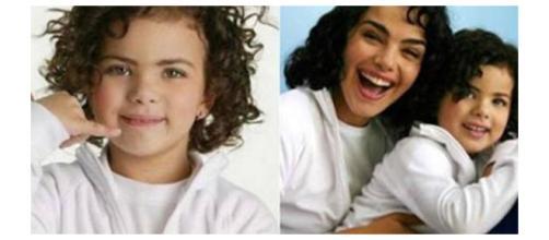 Ela fez muito sucesso por ser idêntica a atriz