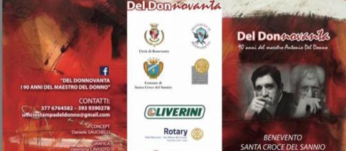 Il Sannio celebra i 90 anni di Antonio Del Donno