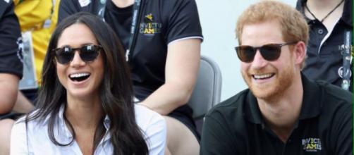 Nell'immagine: il principe Harry e Meghan Markle