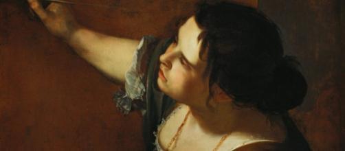 Self-portrait by Artemesia Gentileschi [Image via en.wikipedia.org]