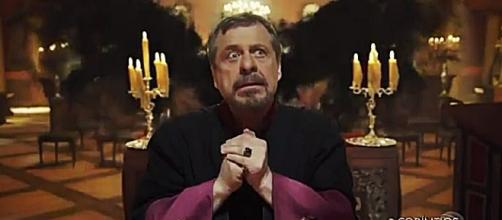 Stéfano ficou pasmo com a visita inusitada em 'Apocalipse'