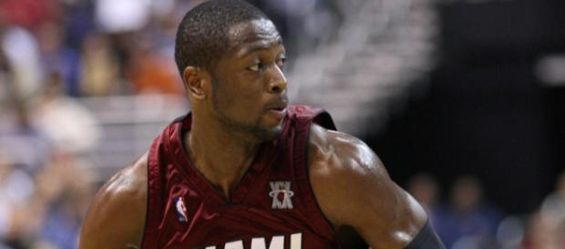 Dwyane Wade talks about his injuries. Image Credit: Keith Allison / Flickr