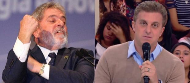 Ex-presidente Lula esnoba Luciano Huck