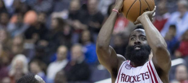 James Harden leads Rockets to win. (Wikimedia Commons - Keith Allison)