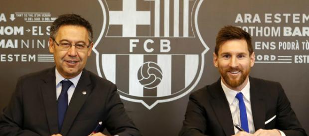 Renovación de Lionel Messi con el Barcelona hasta 2021 ... - elespectador.com