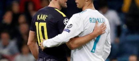 Harry Kane et C. Ronaldo en Ligue des Champions.