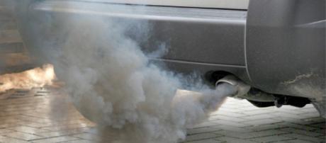 Lo smog prodotto da un'automobile