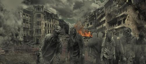 A zombie apocalypse would leave our world in complete ruin (Image via Ahmadreza89 on Pixabay)