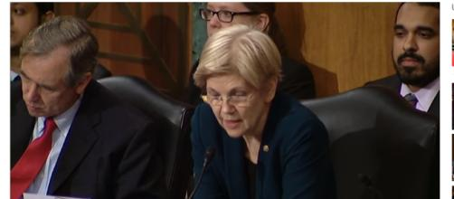 Elizabeth Warren offended by President Trump calling her Pocahontas. (Image via Senator Elizabeth Warren/YouTube screencap).