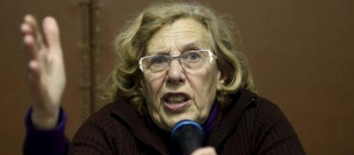 Manuela Carmena, presidenta de la comunidad de Madrid