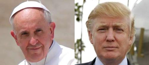 Pope Francis, Donald Trump, via Twitter