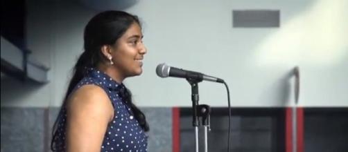 Rukmini Kalamangalam. (Image from witsvideo/YouTube)