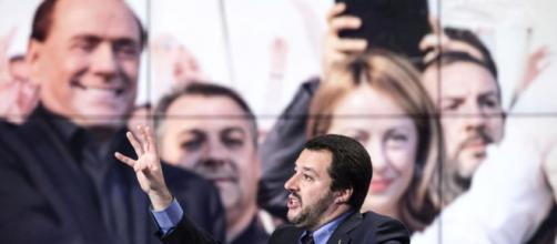Salvini contro berlusconi a radio capital