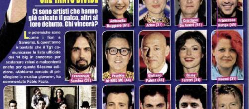 Sanremo 2018 anticipazioni cantanti Big