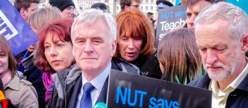 Supporting more strikes. And these two want to run the country! (Picture Flikr)