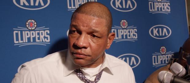 Clippers head coach Doc Rivers is blaming Lonzo Ball for Blake Griffin's latest injury -- LA Clippers via YouTube