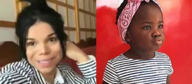 Em ataque racista, socialite americana chama filha de Gio Ewbank de macaca