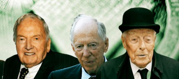 Membri ai familiilor Rothschild și Rockefeller, care au averi impresionante