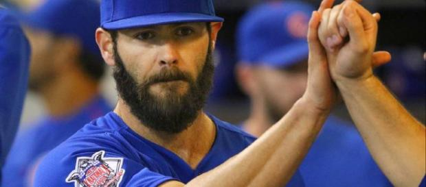 Now among the elite, what's next for Chicago Cubs ace Jake Arrieta? - [Image via Daily Herald/YouTube]