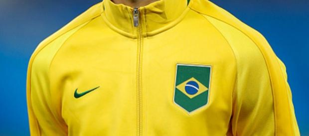 O jogador já atuou pela seleção brasileira