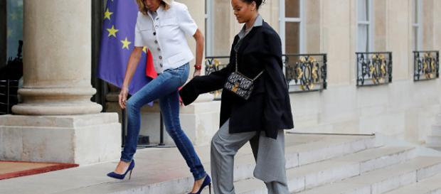 Rencontre Macron-Rihanna: les messages subliminaux décelés par des ... - sputniknews.com