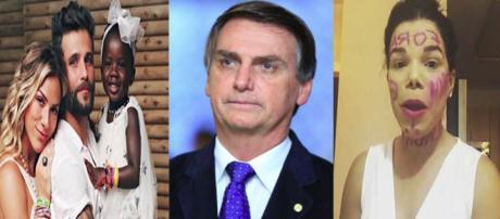 Mulher que ofendeu Titi nas redes sociais apoia Jair Bolsonaro