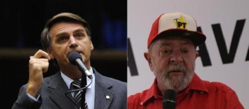 Bolsonaro está à frente de Lula pela primeira vez