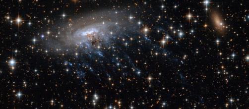 El movimiento de la galaxia es un importante tema de estudio. Public Domain.