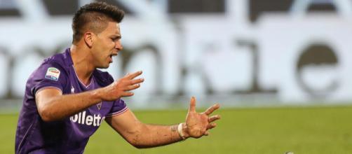 Giovanni Simeone, attaccante della Fiorentina.