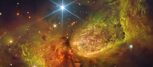 Las nebulosas forman parte del universo. Public Domain.