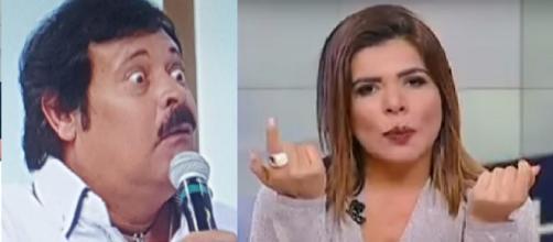 Mara Maravilha acusa Carlinhos Aguiar de tentar 'puxar tapete' de colega