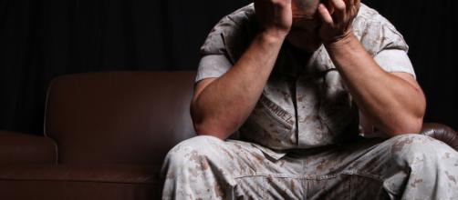 Medical marijuana & treatment of PTSD. (Image Credit: By Marines from Arlington, VA, United States (Battling PTSD)/Wikimedia Commons)