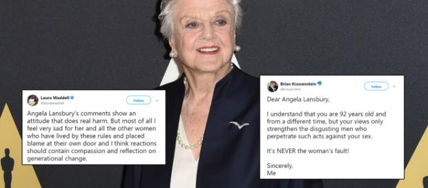 Angela Lansbury's recent comments weren't received too well. Image Credit: Own work