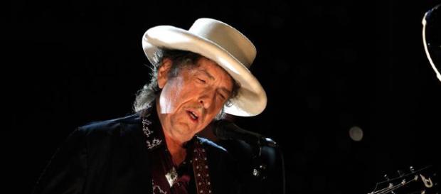 Il cantautore Bob Dylan in concerto