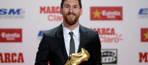 Lionel Messi recibió su cuarta Bota de Oro - Univision - univision.com