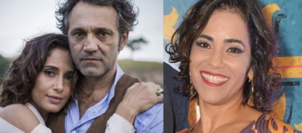 Luciana Lima fala sobre morte de Domingos