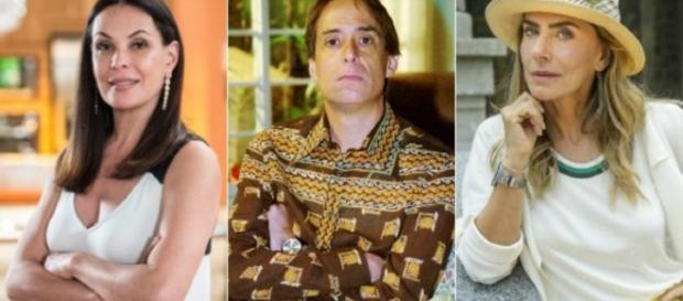 Pedro Cardoso, Maitê Proenca e Carolina Ferraz são banidos da Globo