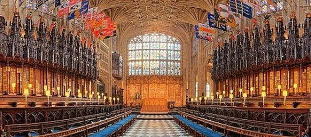 Prince Harry and Meghan Markle's wedding will be in St. George's Chapel [Image: Tony's 24/7 Eyes/YouTube screenshot]