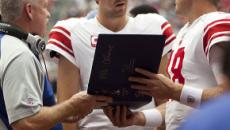 Eli Manning, NY Giants quarterback is benched