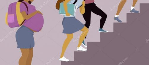 Los riesgos del embarazo en adolescentes.- depositphotos.com